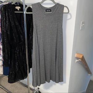 Fab'rik Grey Tank Tunic Dress